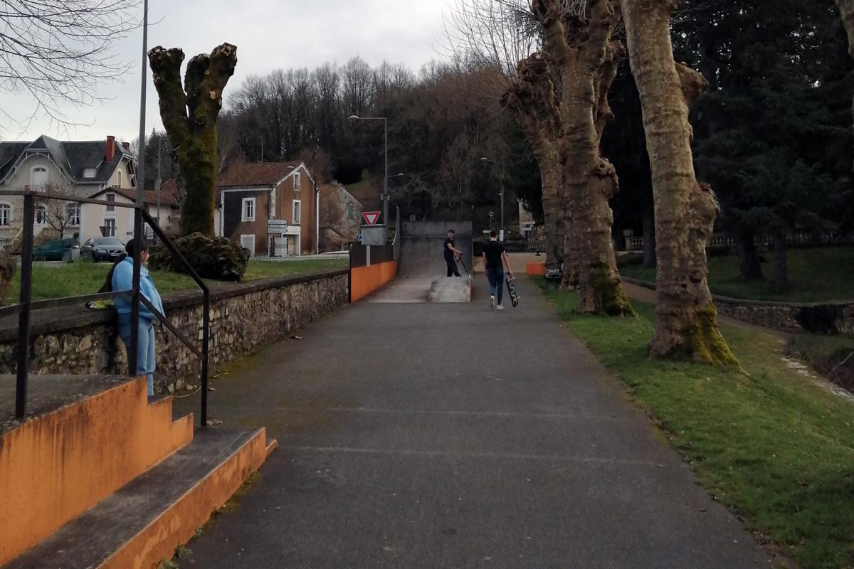 Skate parc de Saint-Pardoux-la-Rivière