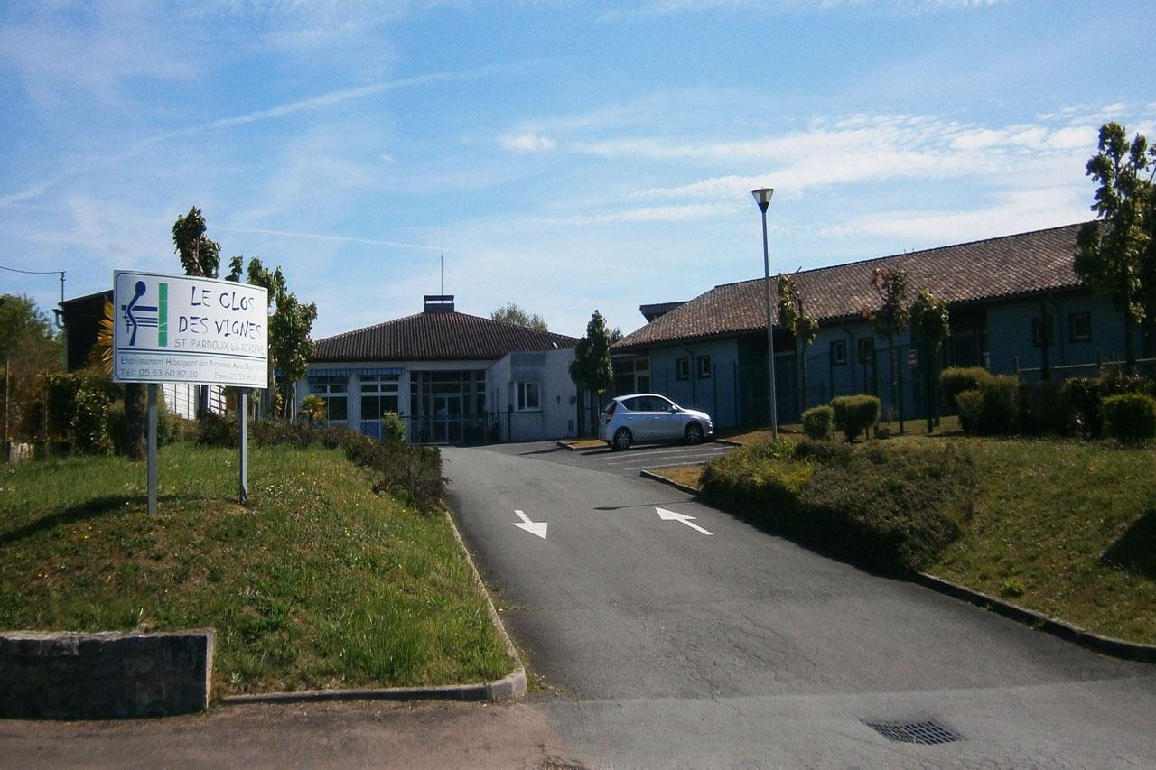 maison de retraite de Saint-Pardoux-la-Rivière
